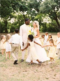 If my african babies could come to my wedding I would so take this shot
