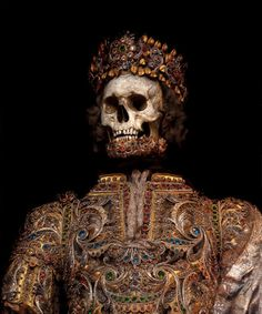 Toby de Silva's Beautiful Photographs of the Skeletons of Martyred Saints   Beautiful/Decay Artist & Design