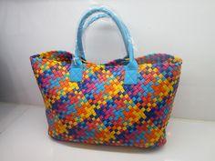 blue-multi color cabat bag 2017 trend