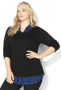 c989c18a076 Plus size fashion clothing including tops