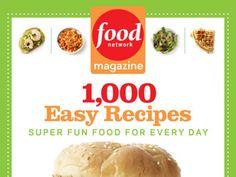 Food Network Periodical Cookbook