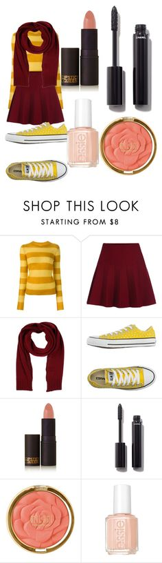 """""""#3"""" by denellablackthorn on Polyvore featuring Étoile Isabel Marant, Annarita N., Converse, Lipstick Queen, Chanel, Milani and Essie"""
