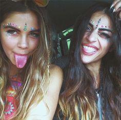 ☯ Pinterest: goodjujutribe // Instagram: @Good JuJu Tribe ☯ ☯ Join the tribe!ॐ Radiate positive energy✚ #makeup #ravegirls #edm #dance