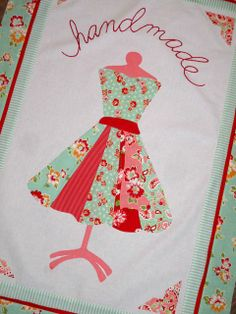 Love this dress. Pattern by Fig Tree Quilts.