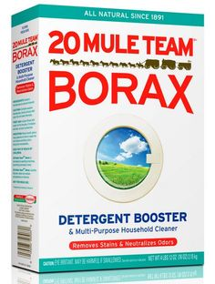 Not just for laundry! Top 10 uses for Borax around the home.