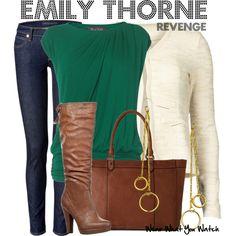 Inspired by Emily VanCamp as Emily Thorne on Revenge.