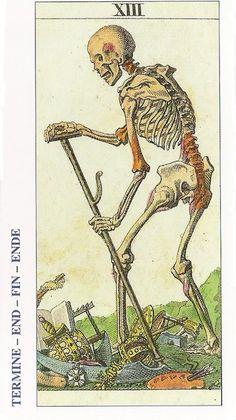 Significado de la carta la muerte Tarot