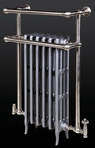 Custom built traditional towel rail radiator with antiqued pewter finish Column Radiators, Towel Radiator, Cast Iron Radiators, Towel Rail, Antique Pewter, Antiquities, Home Appliances, Traditional, Bathroom