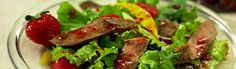 More than just leafy greens, this beef steak salad recipe has substantial staying-power, built on economical Marinating Steak that's been grilled and cut into thin slices. Beef Recipes, Salad Recipes, Cooking Roast Beef, Roast Beef Sandwiches, Berry Salad, Marinated Steak, Steak Salad, Beef Steak, Cooking Time