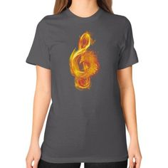 Music Reborn Unisex T-Shirt (on woman)