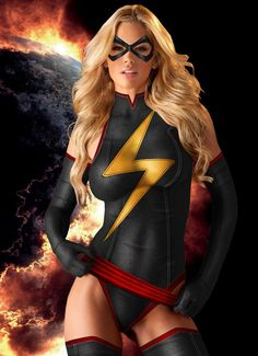 #Sexy #Blonde #Superhero...A nerdy (self proclaimed) guys version of ideal weight.