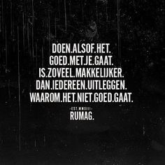 Veel makkelijker maar het lost niks op. Praat, schreeuw, schrijf, pin, doe iets:) Words Of Wisdom Quotes, Sad Quotes, Best Quotes, Inspirational Quotes, Coaching, Dutch Quotes, True Words, Cool Words, Texts