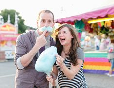 Cotton Candy Carnival Maternity Session - Inspired By This