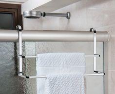 Suporte de toalha para box duplo | Ordenato