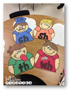 The Digraph Brothers - includes FREE interactive printables