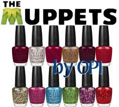 Muppet themed nail polish! I am gonna get this!!!