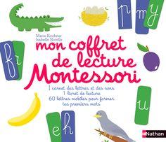 Mon coffret de lecture Montessori     Éditions NATHAN