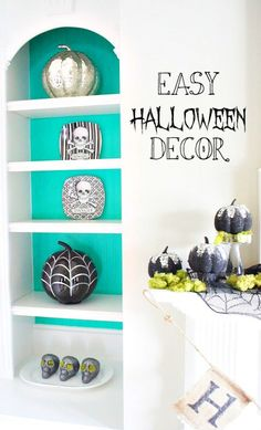 Easy Halloween Decor - Chaotically Creative