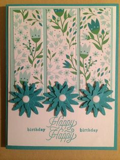 Stampin' Up Paper Pumpkin March 2016 by Pat McG.