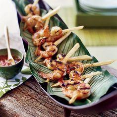 Vietnamese-Style Jumbo Shrimp on Sugarcane | Food & Wine