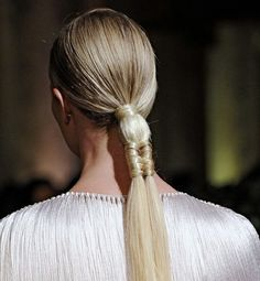 Ponytail Hairstyle Ideas and Accessories by http://iheartcelebtrends.com