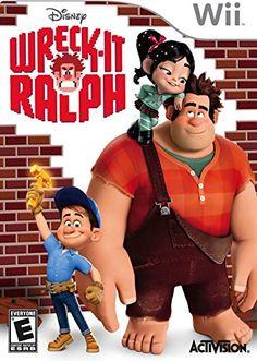 Wreck-It Ralph - Nintendo Wii by Activision - coupon template Nintendo Ds Spiele, Nintendo Wii, Wreck It Ralph, Wii Games, Arcade Games, Cristiano Ronaldo, Playstation, Dvd Box, Vanellope Von Schweetz