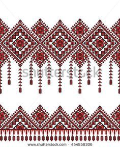 Cross Stitch Borders Embroidered old handmade cross-stitch ethnic Ukrainian pattern. Towel with ornament, called rushnyk in vector - Learn Embroidery, Cross Stitch Embroidery, Embroidery Patterns, Cross Stitching, Cross Stitch Borders, Cross Stitch Patterns, Bordado Popular, Paisley Background, Cross Stitch Christmas Ornaments