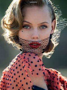 "Top modelki w sesji okładkowej Antidote Magazine ""The Street Issue"", fot. Hans Feurer"