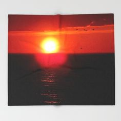 New, Red Flight   https://society6.com/product/flying-into-the-sun_throw-blanket?curator=danbythesea Available as over 20 different products  Follow DanByTheSea  https://society6.com/danbythesea #society6 #DanByTheSea