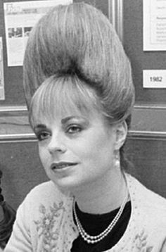 60s bouffant hair - Google Search Excuse me. Your hair is growing in an upward…