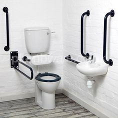 Document M compliant toilet pack (Low-Level option) with WRAS approved flush and fittings.