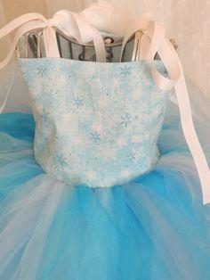 Elsa Frozen tutu dress frozen birthday by TutusCurlsAndPearls