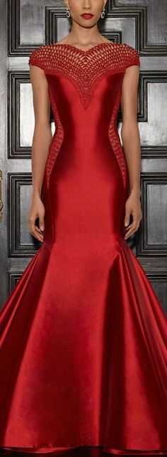 #Elegant #Red #Gown #Dress #Dresses #PartyDress #EveningWear