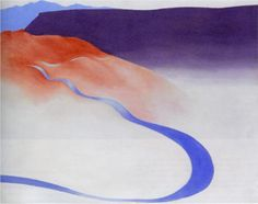 Road to the Ranch - Georgia O'Keeffe