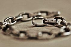 quote bracelet chain bracelet link bracelet vintage
