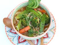 VEGGIE PHO! *My husband and I were introduced to Pho through our good friends we love being foodies with. Pho everyone, is SOOO GOOD! We CRAVE this yummy vietnamese noodle soup :) Here's a Vegetarian Recipe for Pho! -Next on my list to make at home ;) ~GirlNesting