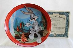 "Bugs Bunny ""S'more The Merrier"" Bradford Exchange Porcelain Plate ""NEW"""