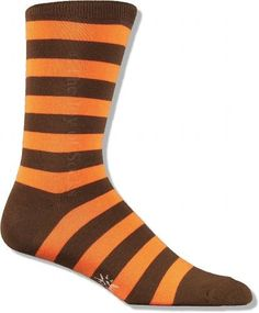 Colorful Dress Socks for Men - Striped Crew Socks Wide Stripes, Striped Socks, Fall Wedding, Wedding Ideas, Dress Socks, Orange Brown, Color Combinations, How To Wear, Google