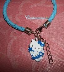 Hello Kitty Charm Rope Bracelet