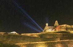 Castillo San Felipe en la bella Cartagena !