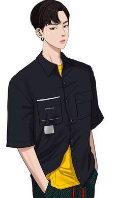 Seojun - The Secret Of Angel Disney Girls Room, I Love Yoo Webtoon, The Secret, Boy Illustration, Illustrations, Chica Anime Manga, Anime Cupples, Webtoon Comics, Lookism Webtoon