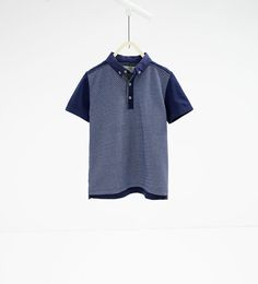 Image 1 of Printed polo shirt from Zara