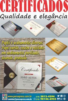 Certificados #escolas #faculdades #cursos #certificados