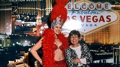 7. Picture with a Vegas showgirl