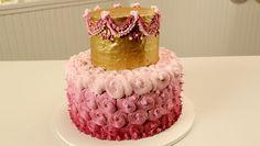 Aprenda a fazer você mesma um bolo em camadas