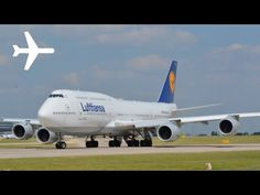 Video: Lufthansa B747-8i Takeoff in Manchester | traveLink.
