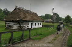 Open air museum in Podkarpacie Province in Poland.