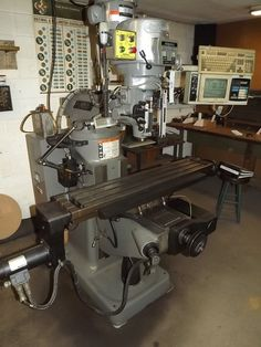 """PA - CNC & Tool Room Equipment - August 28th - Bidding Open August 16th - 28th Auction starts to close at 1 PM eastern on the final day of bidding  BRIDGEPORT EZ TRAK DX CNC VERTICAL MILLING MACHINE, S/N BR267220E, 9"""" X 48"""" TABLE, WITH EZ TRAK DX CONTROL, BIJUR OIL FEEDER, KOOL MIST COOLENT FEDDER, 220 VOLT, 3 PHASE.  Available at Online Auction at http://www.acceleratedbuysell.net/cgi-bin/mnlist.cgi?perillo50/category/ALL"""