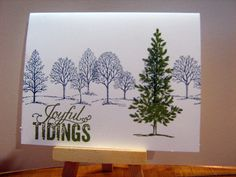 STAMPIN UP LOVELY AS A TREE CHRISTMAS SAS. TAMARA MARTIN