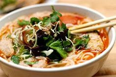 Vietnamese Tuna with Vermicelli Soup